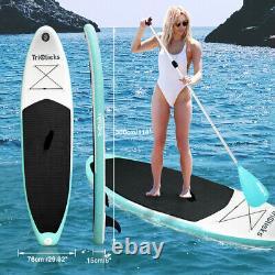 Planche De Surf Gonflable 10ft Sup Soft Surf Stand Up Paddle Board Avec Pompe
