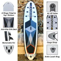 Polaris 10'6' Stand Up Paddle Board Gonflable Pro Sup Pack Complet