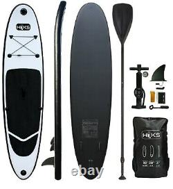 Sup Panneau Gonflable 3m Stand Up Paddle Board Black Sup Set Hiks 10ft