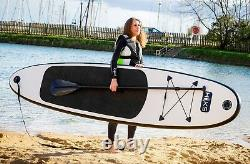 Sup Tableau Gonflable 3m Stand Up Paddle Board Black Sup Set Hiks 10ft Ex-display