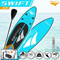 Supremacy 2021 Swift Gonflable Stand Up Paddle Board Isup Sup 305x76x15 / 10ft