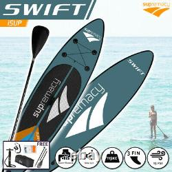 Supremacy 2021 Swift Green Gonflable Stand Up Paddle Board 305x76x15 / 10ft