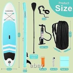 Table De Paddle Gonflable Stand Up, Sup Paddle Réglable, Accessoires Complets Antidérapants
