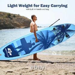 Tableau De Surf Gonflable Réglable Stand-up 16cm Épais Sup Tableau De Paddle Gonflable