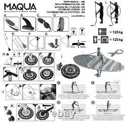 Top Produit Maqua 10' 2 Gonflable Stand Up Paddle Board Sup Surf À Venir Bientôt