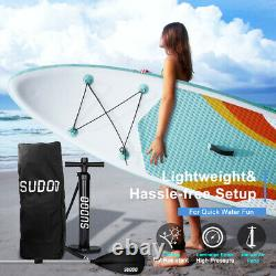 Trc 10'6 Gonflable Paddle Board Sup Stand Up Paddleboard & Accessoires Set