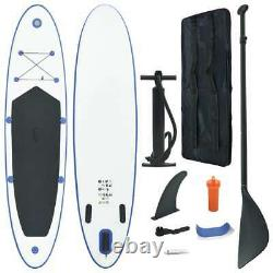 Vidaxl Stand Up Paddle Board Set Gonflable 360cm Blue And White Sup Board Set