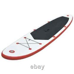 Vidaxl Stand Up Paddle Board Set Gonflable 360cm Red And White Sup Board Sets