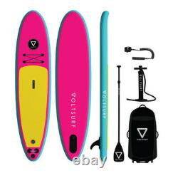 Voltsurf 11 Foot Class Act Gonflable Sup Stand Up Paddle Board Kit Avec Pompe