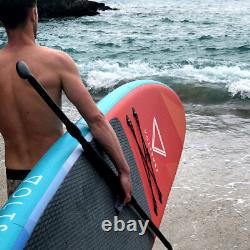 Voltsurf 11 Ft Rover Gonflable Sup Stand Up Paddle Board Kit Avec Pompe, Turquoise