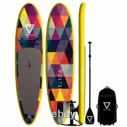 Voltsurf 11 Pied Rover Gonflable Sup Stand Up Paddle Board Kit Avec Pompe, Jaune
