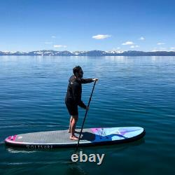 Voltsurf 11 Pied Rover Gonflable Sup Stand Up Paddle Board Kit Avec Pompe, Noir