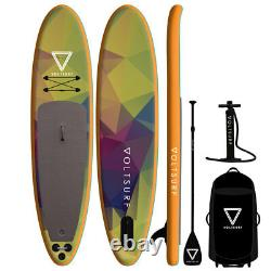 Voltsurf 11 Pied Rover Gonflable Sup Stand Up Paddle Board Kit Avec Pompe, Orange