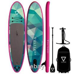 Voltsurf 11 Pied Rover Gonflable Sup Stand Up Paddle Board Kit Avec Pompe, Rose