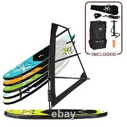 Xq Max 320cm 10,5ft 15cm 6 Gonflable Sup Stand Up Paddle Board Set Et Kit