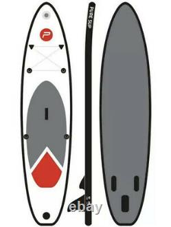 Xq Max Pure 4 Fun Gonflable Stand Up Paddle Board Sup 3,05m 10'long Et Sac À Dos